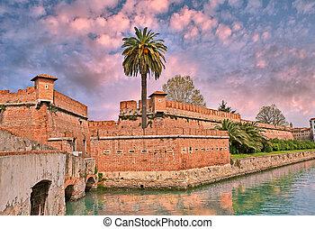 ancient fortress in Livorno (Leghor - Livorno (Leghorn),...