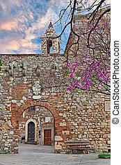 Rosignano Marittimo, Leghorn Livorno, Tuscany, Italy -...