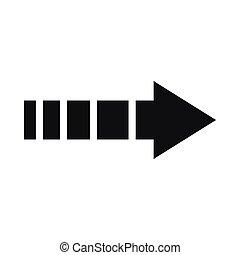 Cursor icon, simple style - Cursor icon in simple style...