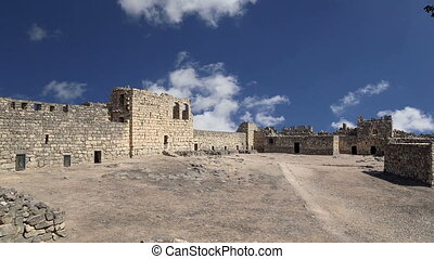 Ruins of Azraq Castle,Jordan - Ruins of Azraq Castle,...