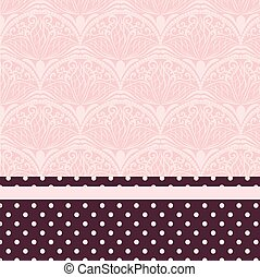 Lace ornament pattern