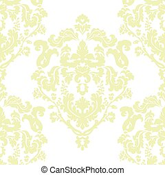 Damask Classic ornament pattern - Vector Damask Classic...