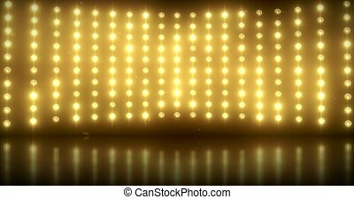 Golden Light Wall - Glittering golden light wall -...