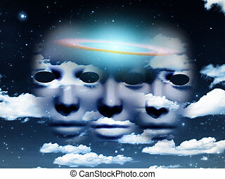 Masks in the sky