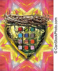 heart of the high priest - Jesus Christ is the high priest...