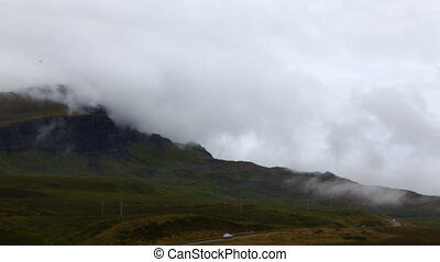 Timelapse of the Old Man of Storr, Skye, Scotland - A...