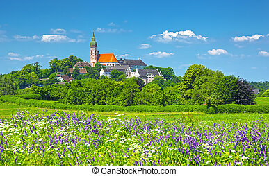 Andechs - An image of Andechs in Bavaria Germany