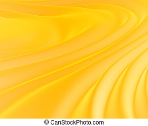 Yellow silky background