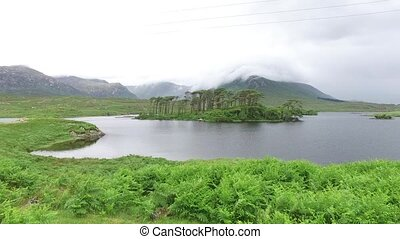 view to island in lake or river at ireland nd 17 - nature...