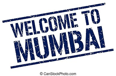 welcome to Mumbai stamp