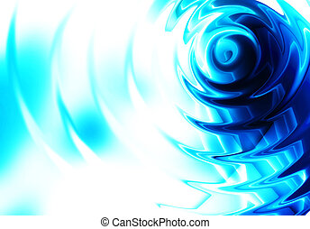 Blue ripple abstract background