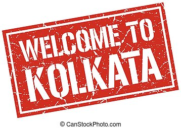 welcome to Kolkata stamp