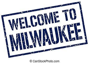 welcome to Milwaukee stamp