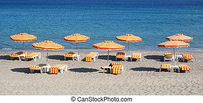 kefalos, wyspa, grecja, Plaża,  Kos