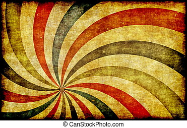Vintage Grunge Background as Carnival Circus Art