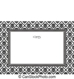Vector Frame and Pattern