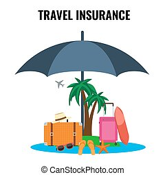Travel Insurance Concept design for Poster, - Travel...