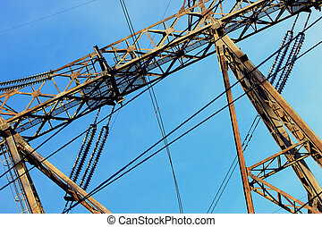High-voltage support of Hydroelectric power
