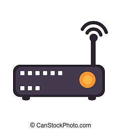 technology and electronic device - wifi router technology...