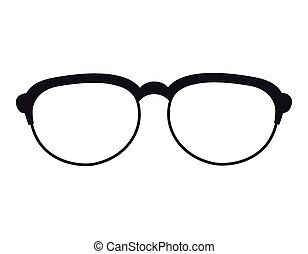 glasses fashion eyewear hipster style accessory vector...