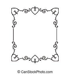 frame card design