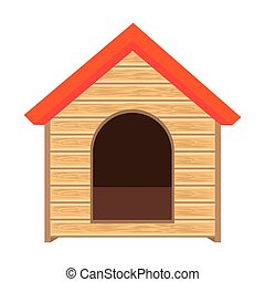 dog house of wood