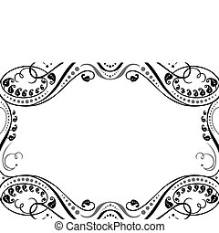 Vector Ornamental Frame - Vector decorative frame. Easy to...