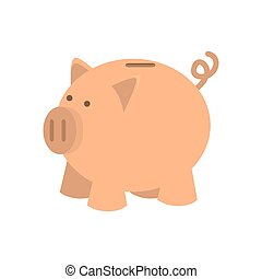 moneybox pink piggy - money saving and investment piggy pink...