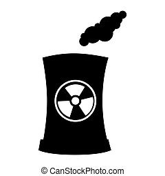 nuclear reactor industry - Factory and industry plant...