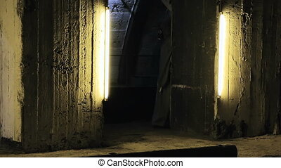 The underground bunker - Underground bunker for shelter when...