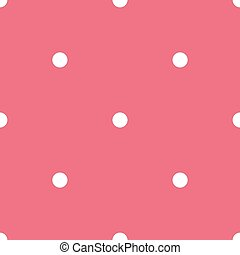Seamless vector pattern with dots
