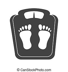 weight scale device - weight scale body control measure foot...