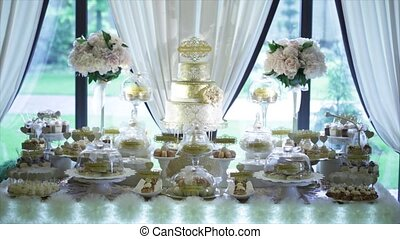 Holiday sweet table or candy bar