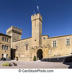 France, le Chateau de l Emperi in Salon de Provence under...