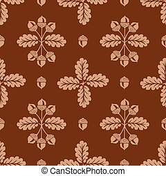 Vector Seamless Background Pattern - Detailed background...