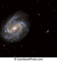 NGC 201 is a barred spiral galaxy in the constellation of...