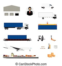 Freight transportation logistics