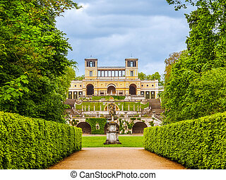 Orangerie in Potsdam HDR - High dynamic range HDR Orangerie...