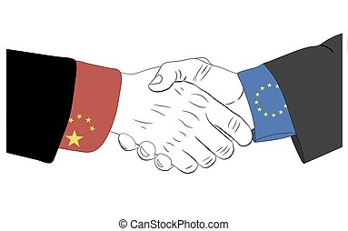The friendship between China and Europe Uniion