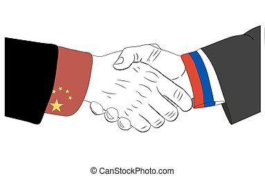 The friendship between Russia and China