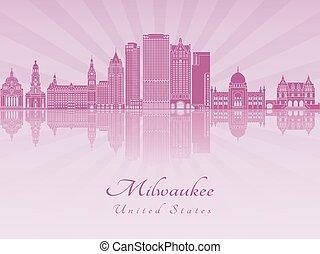 Milwaukee V2 skyline in purple radiant orchid - Milwaukee...