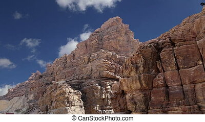 Rocks Wadi Mujib , Jordan - Rocks Wadi Mujib -- national...