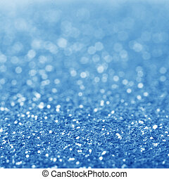 Blue defocused glitter background. - Blue defocused glitter...