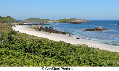 Great bay St Martins - Great bay and little bay beaches, St...