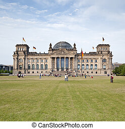 reichstag berlin - An image of the German Reichstag in...