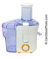 juice extractor - modern juice extractor on a white...