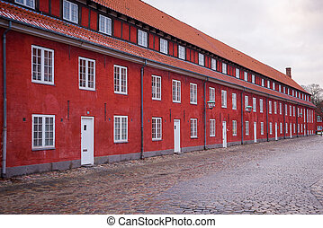 Kastellet, located in Copenhagen, Denmark