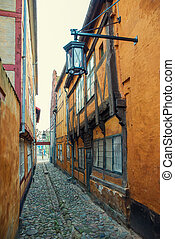 streets - the narrow streets of the old town