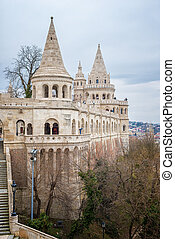 Fisherman's Bastion in Budapest in Hungary