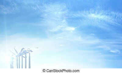 Move over grow up building wind turbines generating energy -...